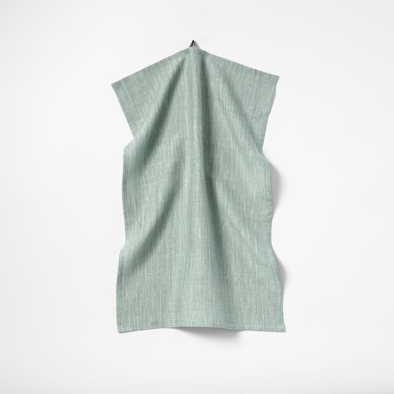 Kitchen Towel Svenskt Tenn Linen - 45x65xm, Linen, Aqua | Svenskt Tenn
