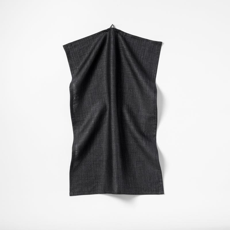 Kitchen Towel Svenskt Tenn Linen - 45x65xm, Linen, Black | Svenskt Tenn