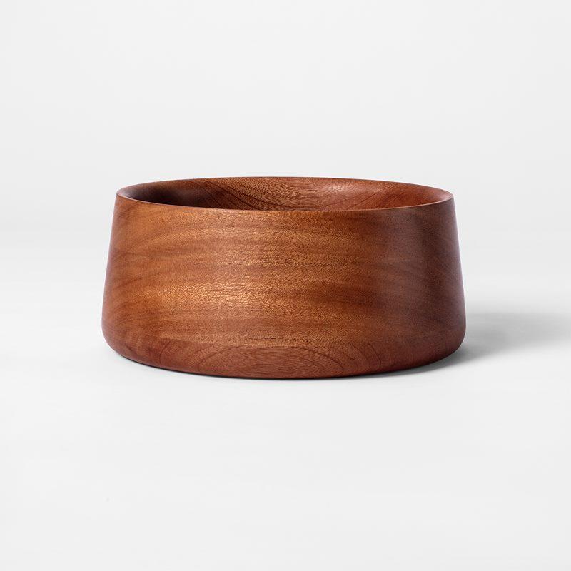 Salad Bowl Vilda - Large, Mahogany | Svenskt Tenn