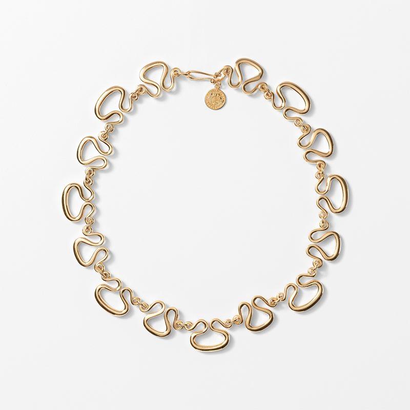 Necklace Etrurian - Gold plated | Svenskt Tenn