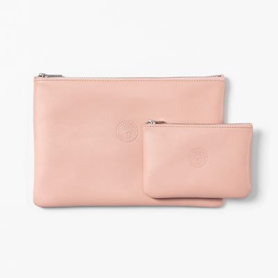 Purse Emblem Large - 24 cm, Skin, Powder Pink | Svenskt Tenn