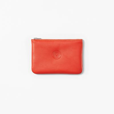 Purse Emblem Small - 14 cm, Skin, Red | Svenskt Tenn
