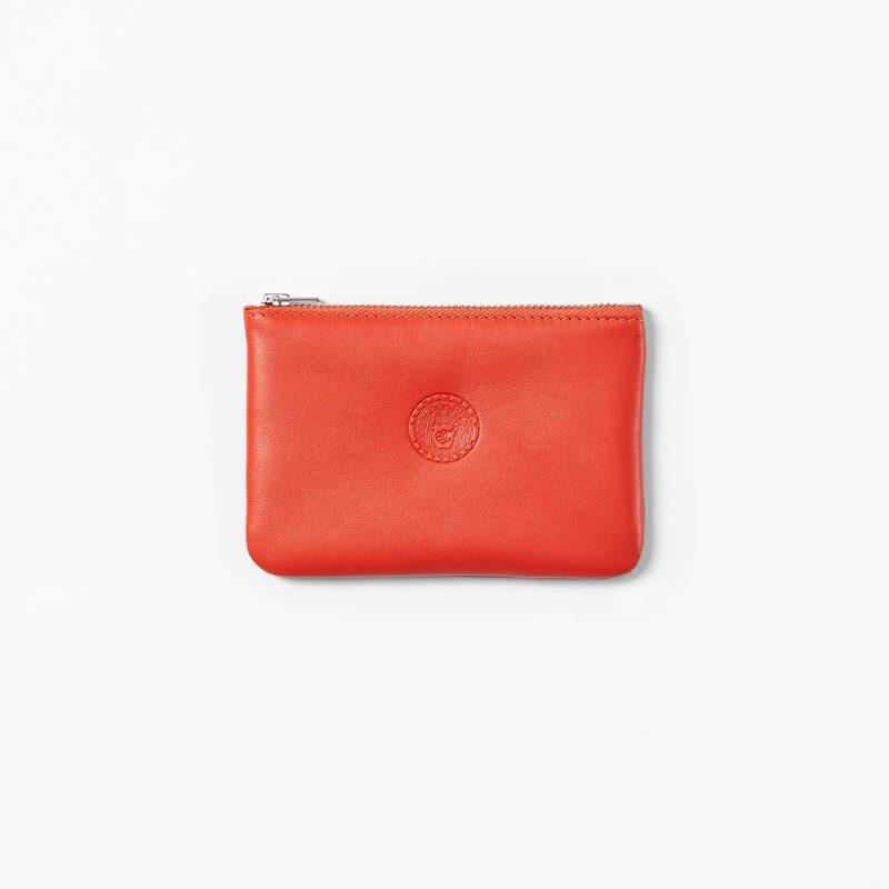 Purse Emblem Small - 14 cm, Skin, Red | Svenskt Tenn