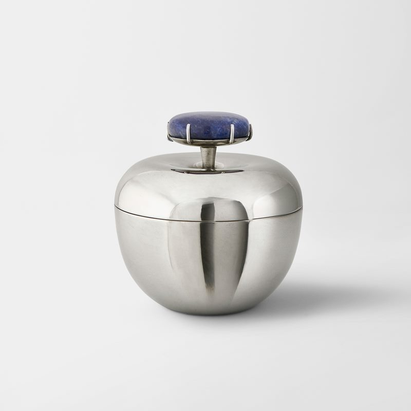 Box Äpple - Pewter and Sodalite stone | Svenskt Tenn