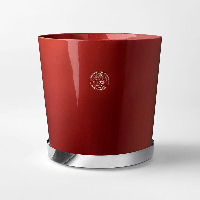 Pot Svenskt Tenn - 36 cm, Stoneware, Red | Svenskt Tenn