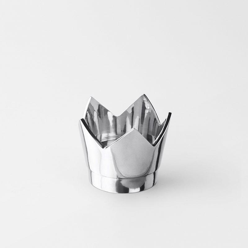 Candle Holder Kronan På Verket - Silver plated | Svenskt Tenn