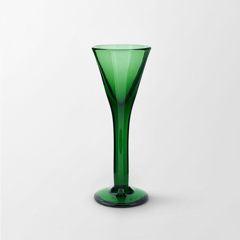 Schnapps Glass Green - Glass, Green | Svenskt Tenn