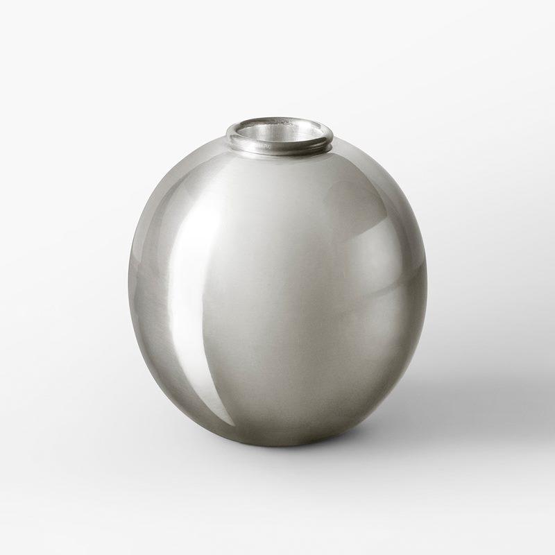 Vase 1477 - 10 cm, Pewter | Svenskt Tenn