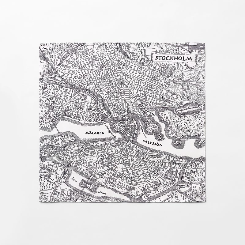 Pochette Stockholm - Siden | Svenskt Tenn