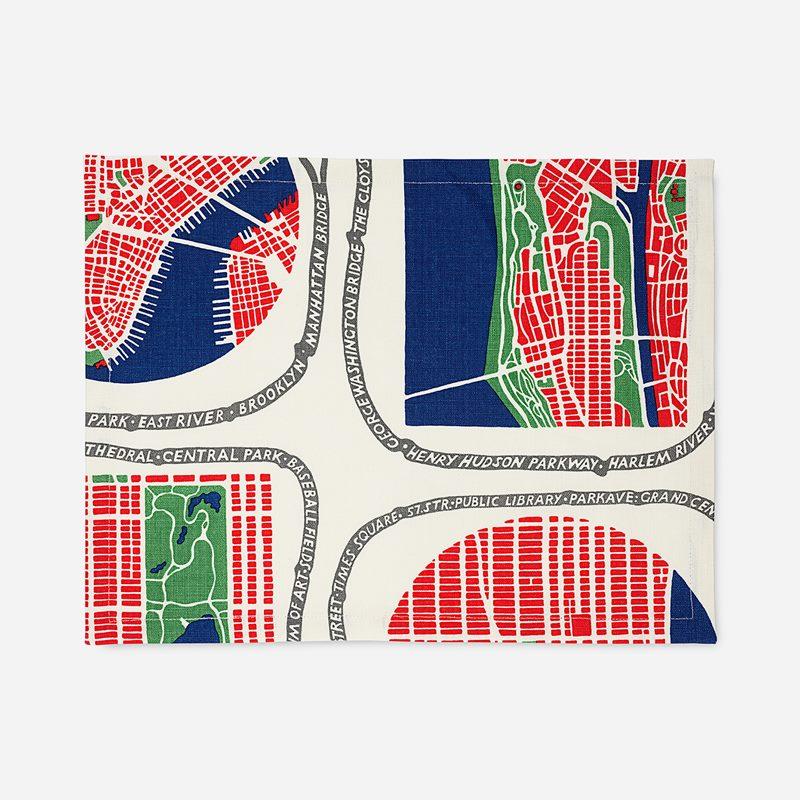 Tablett Manhattan - 35x45 cm, Lin, Manhattan | Svenskt Tenn