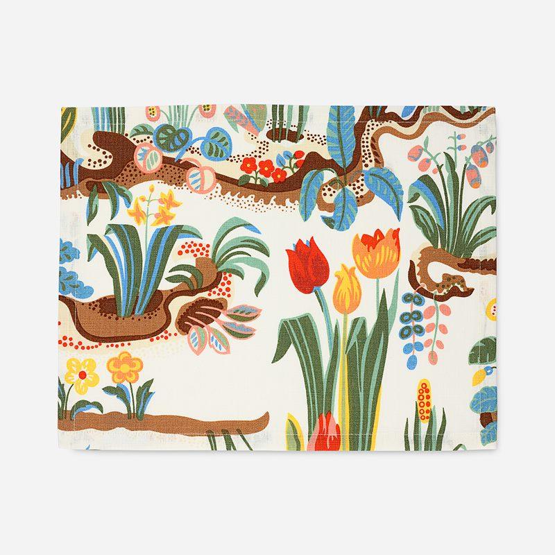 Tablett Primavera - 35x45 cm, Lin, Primavera | Svenskt Tenn