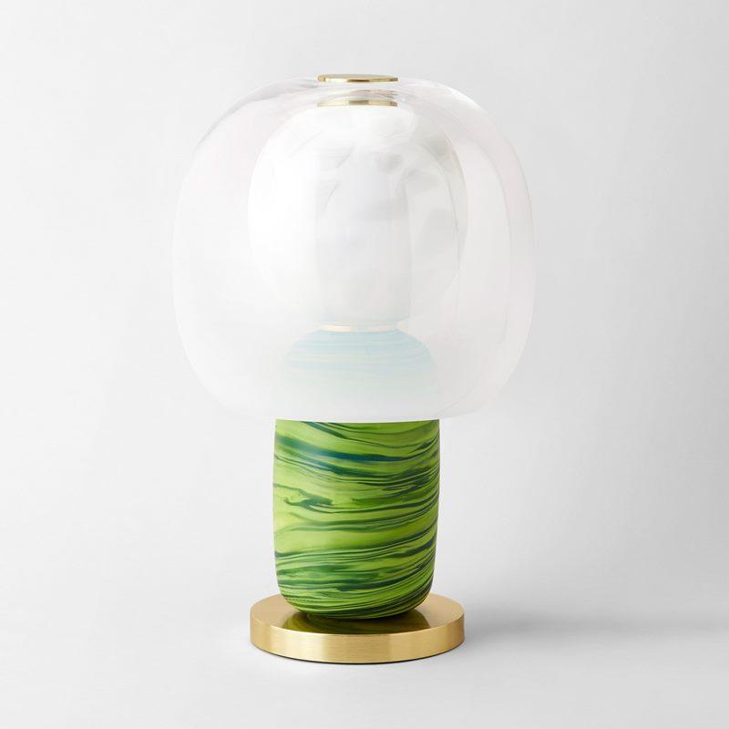 Table Lamp Fusa 45 - Glass, Green | Svenskt Tenn