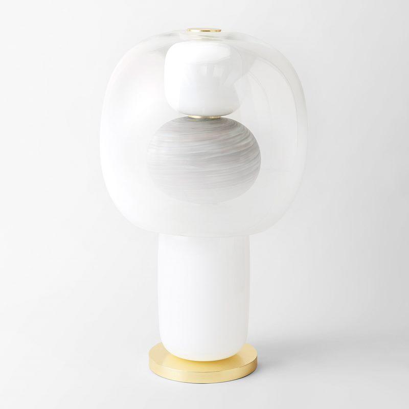 Table Lamp Fusa 70 - Glass, Neutral | Svenskt Tenn