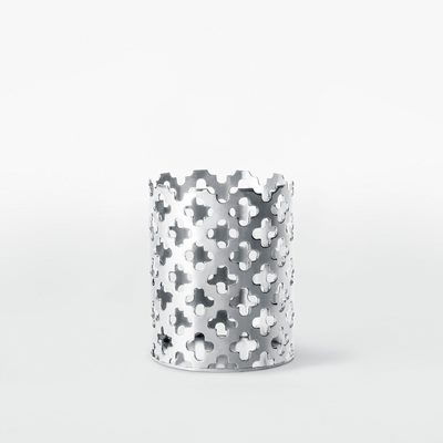 Tealight Holder Clover - Silver plated Brass, Sara Szyber | Svenskt Tenn