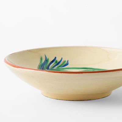 Plate Fish - 20 cm, Ceramics, Green | Svenskt Tenn