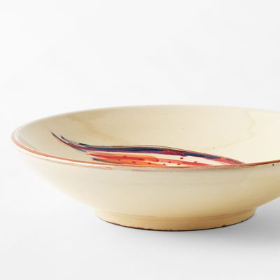 Plate Fish - 20 cm, Ceramics, Red | Svenskt Tenn