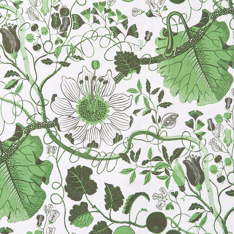 Fabric Sample La Plata - Linen 315, La Plata, Green | Svenskt Tenn