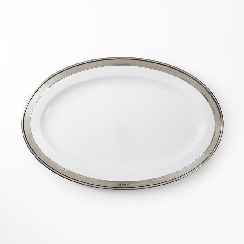 Serving Platter with Rim - 57x38 cm | Svenskt Tenn