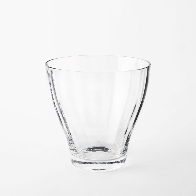 Vas Iris - 20 cm, Glas, Klar | Svenskt Tenn