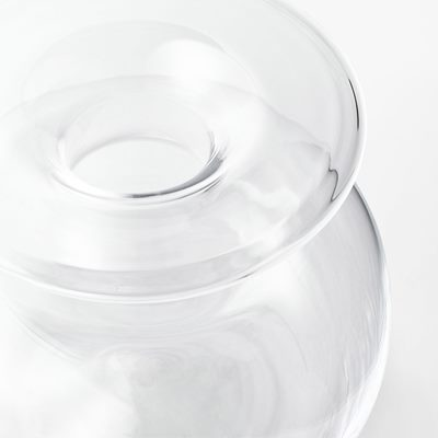 Vase No2 - Glass, Clear, Josef Frank | Svenskt Tenn