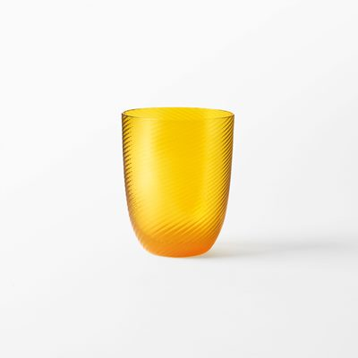 Glass Idra - 8x11 cm, Glass, Yellow | Svenskt Tenn