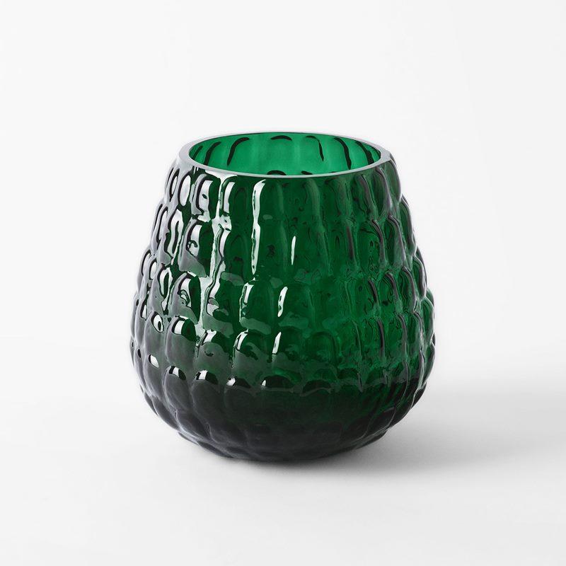 Vas Kotte - Glas, Grön | Svenskt Tenn