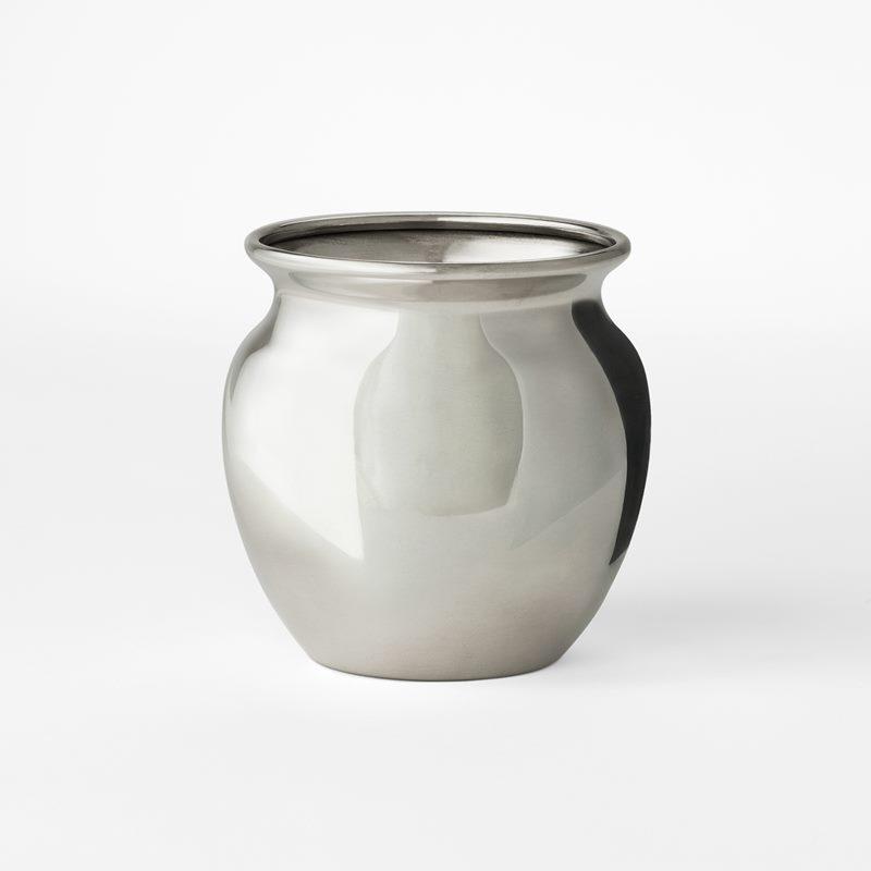 Vase Jam Jar - Pewter | Svenskt Tenn