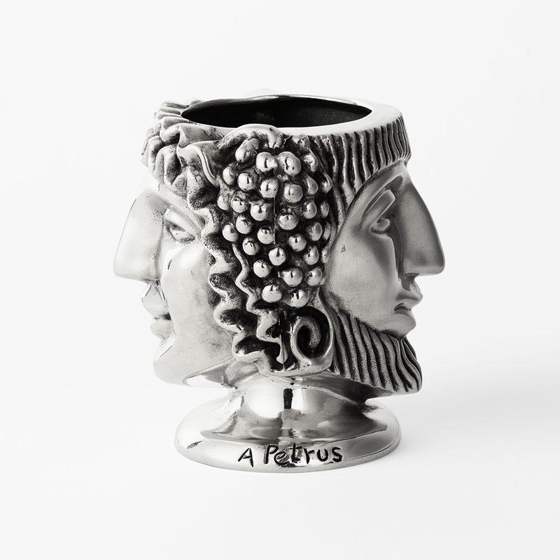 Vase Head of Janus - Pewter | Svenskt Tenn