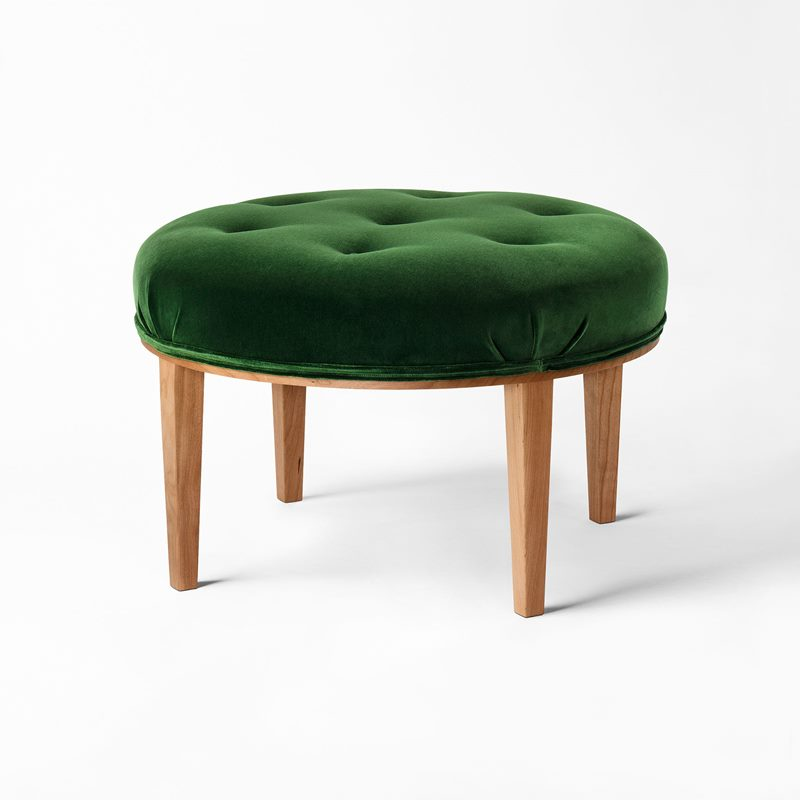 Stool 647 - Green | Svenskt Tenn