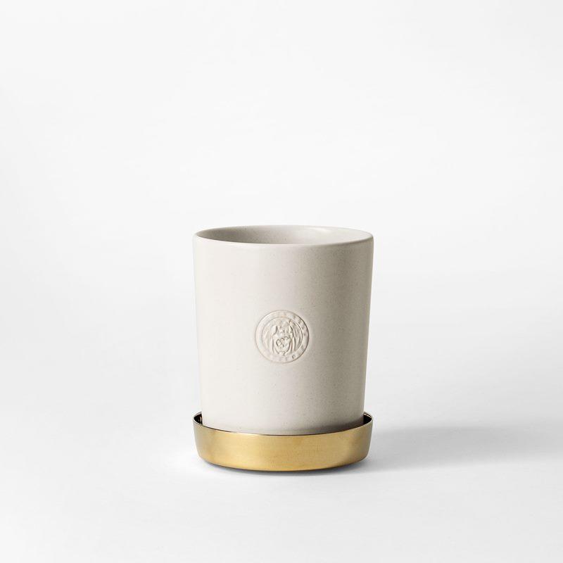 Pot Svenskt Tenn - 9,5 cm, Stoneware, Eggshell | Svenskt Tenn