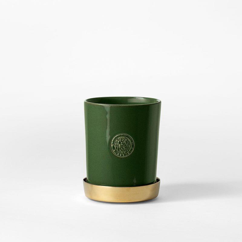 Pot Svenskt Tenn - 9,5 cm, Stoneware, Moss Green | Svenskt Tenn