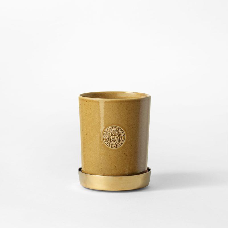Pot Svenskt Tenn - 9,5 cm, Stoneware, Ochre | Svenskt Tenn