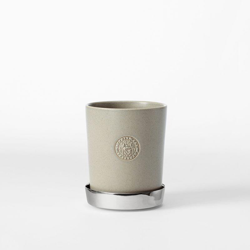 Pot Svenskt Tenn - 9,5 cm, Stoneware, Oyster | Svenskt Tenn