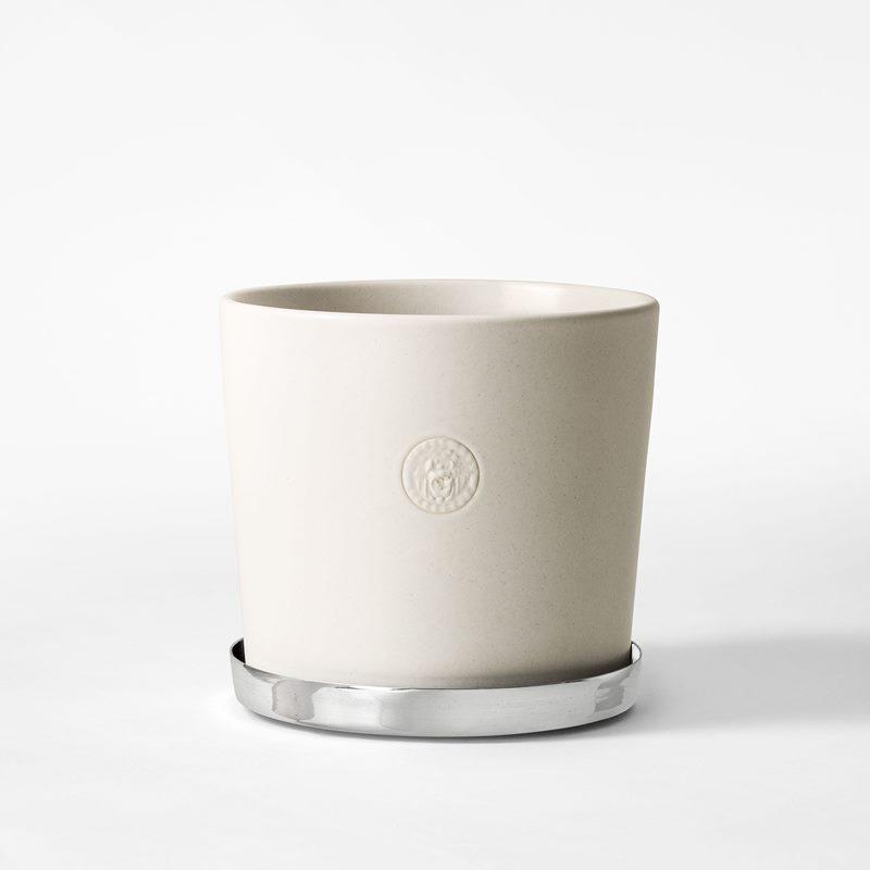 Pot Svenskt Tenn - 16 cm, Stoneware, Eggshell | Svenskt Tenn
