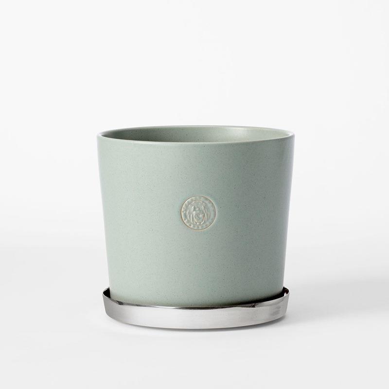 Pot Svenskt Tenn - 16 cm, Stoneware, Ice Blue | Svenskt Tenn