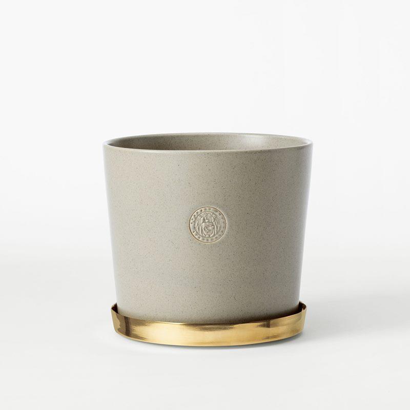 Pot Svenskt Tenn - 16 cm, Stoneware, Oyster | Svenskt Tenn