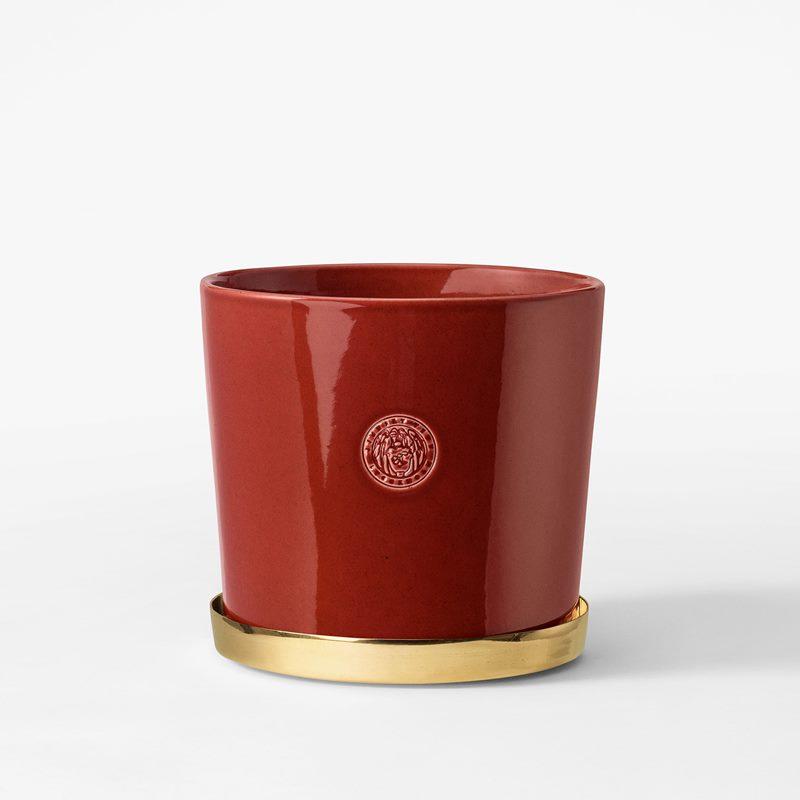 Pot Svenskt Tenn - 16 cm, Stoneware, Red | Svenskt Tenn