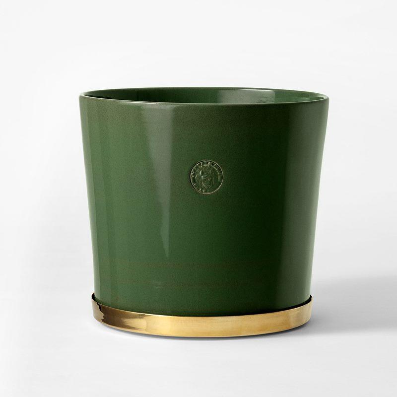 Pot Svenskt Tenn - 23,5 cm, Stoneware, Moss Green | Svenskt Tenn