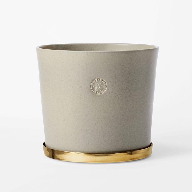 Pot Svenskt Tenn - 23,5 cm, Stoneware, Oyster | Svenskt Tenn