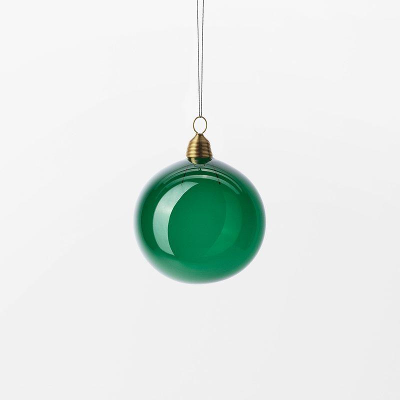 Hänge Julkula - 6 cm, Glas, Grön | Svenskt Tenn