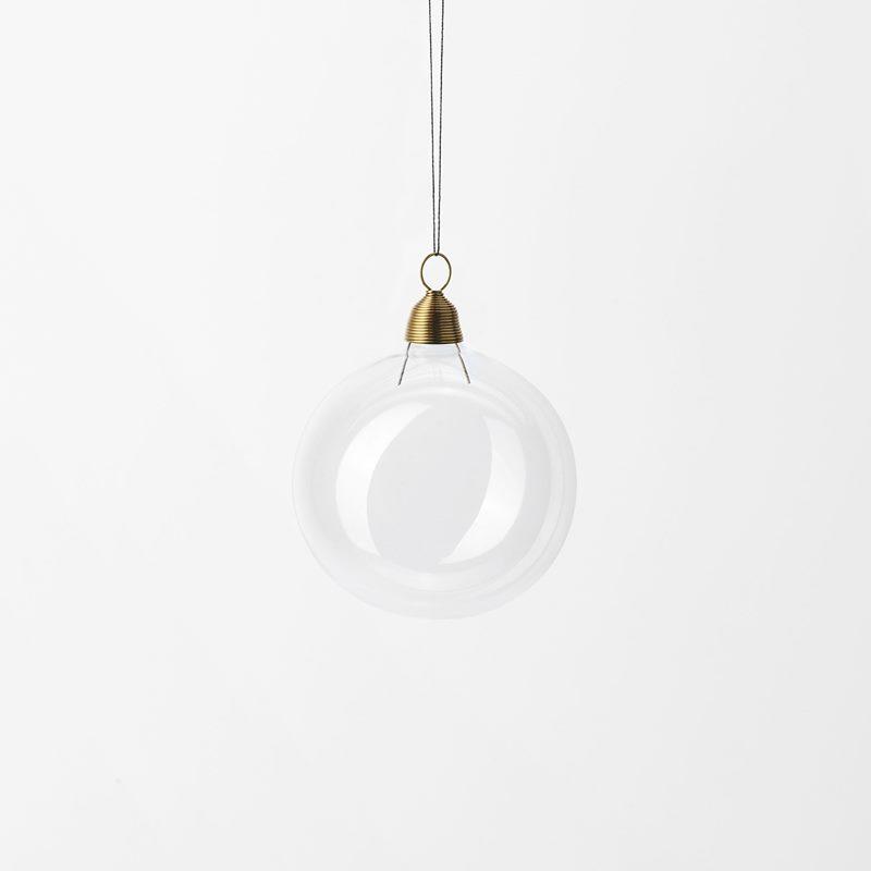 Hänge Julkula - 6 cm, Glas, Klar | Svenskt Tenn