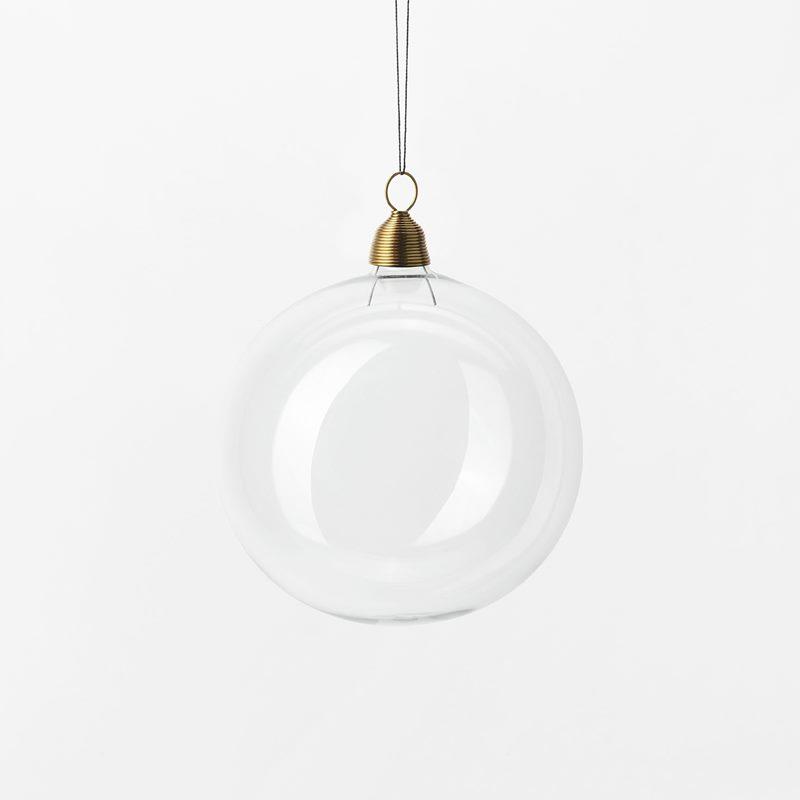 Hänge Julkula - 8 cm, Glas, Klar | Svenskt Tenn