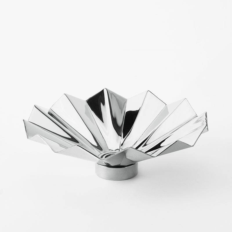 Candle Ring Pleated - Silver plated Brass | Svenskt Tenn