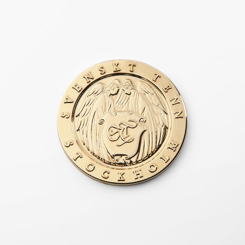 Gift Coin Gold - Gold plated Pewter | Svenskt Tenn
