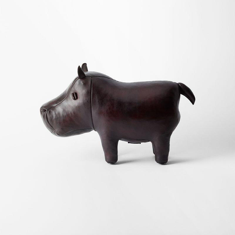 Hippopotamus - Small, Leather | Svenskt Tenn