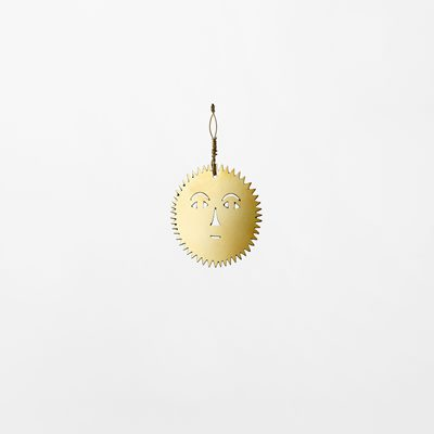 Decoration Milky Way - 4,3 cm, Brass, Sun Small, Maja Sten | Svenskt Tenn