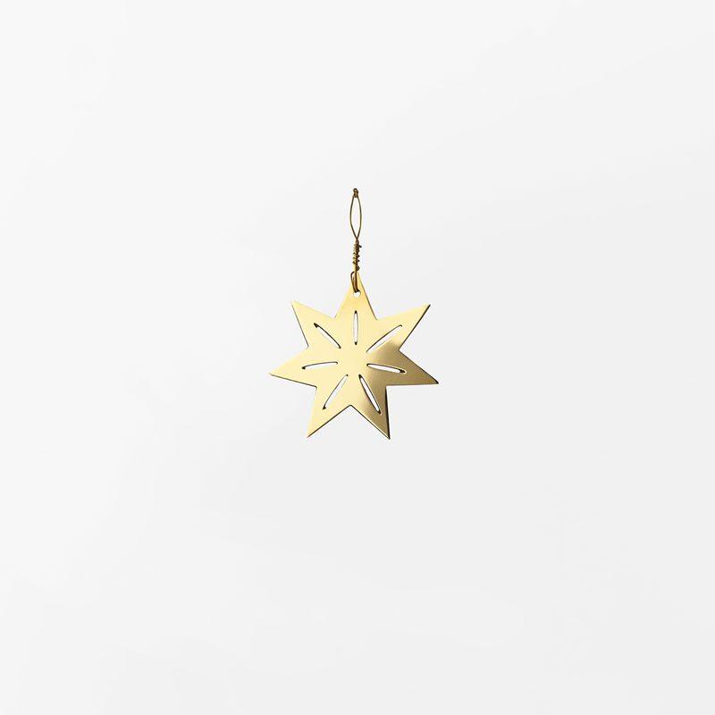 Decoration Milky Way - 4,3 cm, Brass, Star Small | Svenskt Tenn
