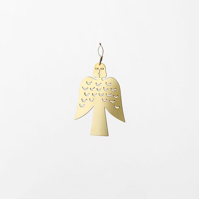 Decoration Milky Way - 6,6 cm, Brass, Angel Small | Svenskt Tenn