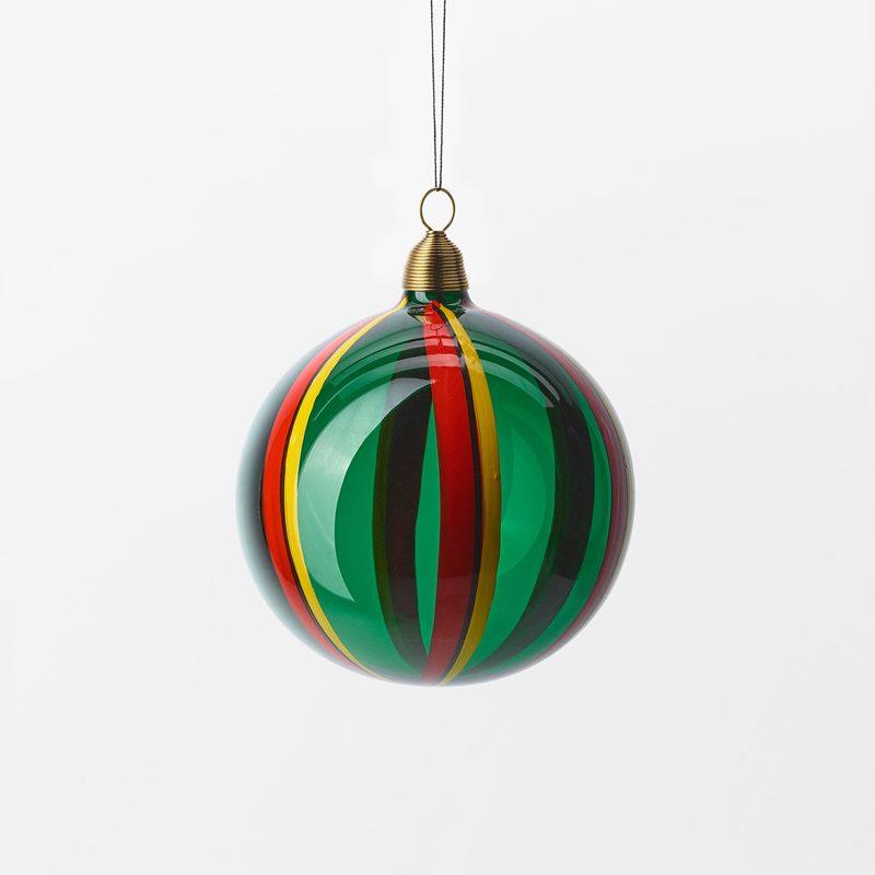 Bauble Fruits of Eden - 8 cm, Glass, Vattenmelon, Green | Svenskt Tenn