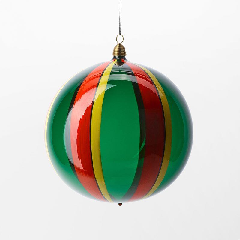 Bauble Fruits of Eden - 15 cm, Glass, Vattenmelon, Green | Svenskt Tenn